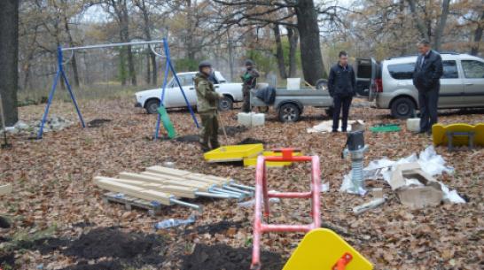 Терновские активисты сделают детскую площадку на опушке Савальского леса