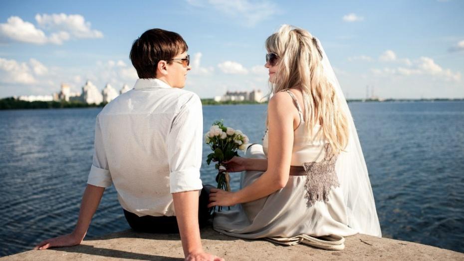 Воронеж вошел в число самых заинтересованных свадьбами миллионников России