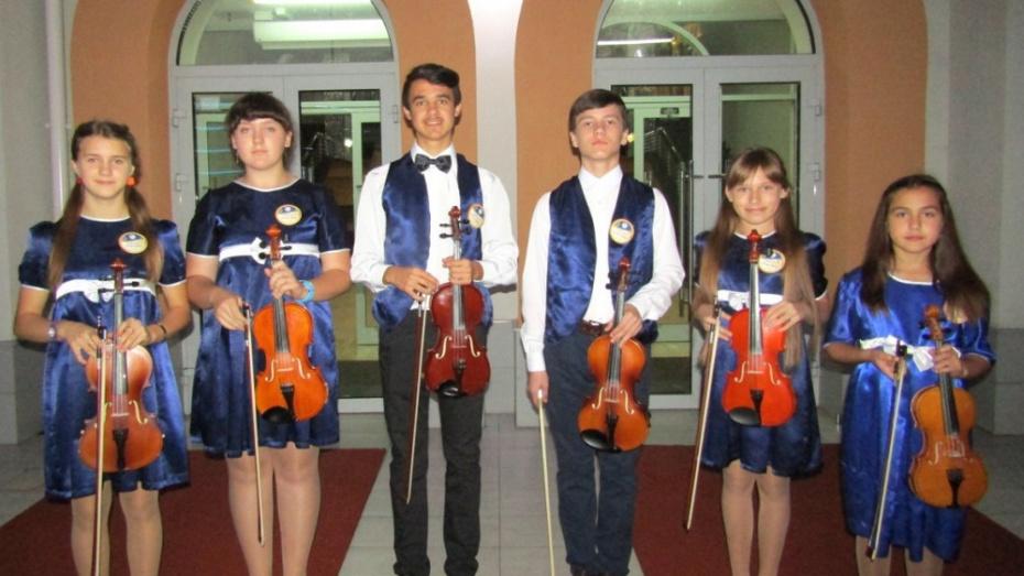 Новохоперские скрипачи стали лауреатами Международного конкурса-фестиваля