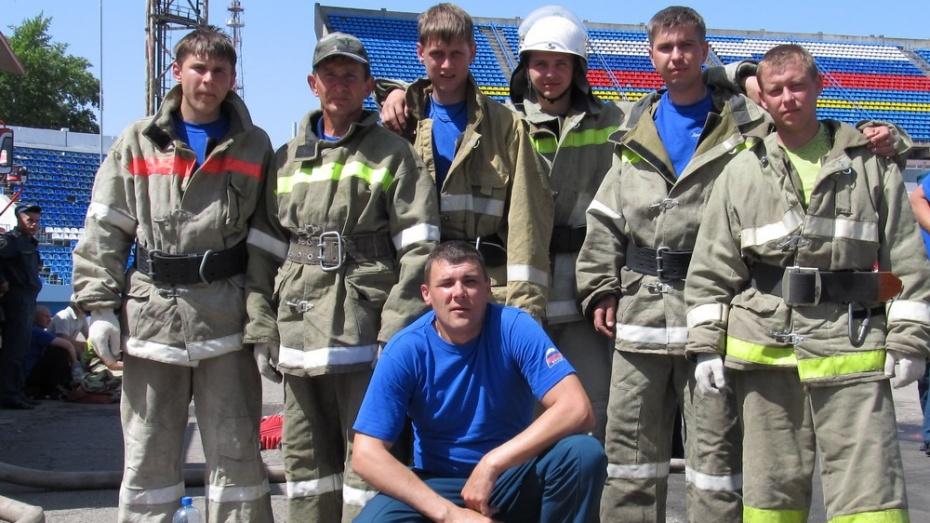 Рамонские добровольные пожарные стали вторыми на областном смотре-конкурсе пожарных дружин