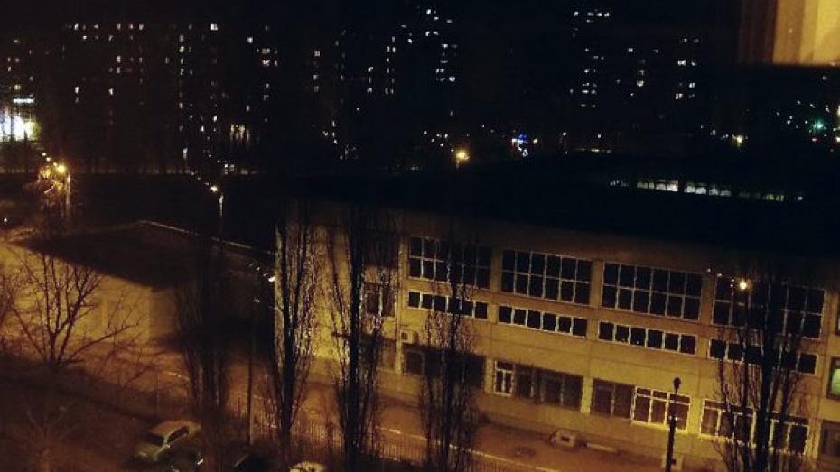 Северный микрорайон Воронежа был обесточен на несколько часов