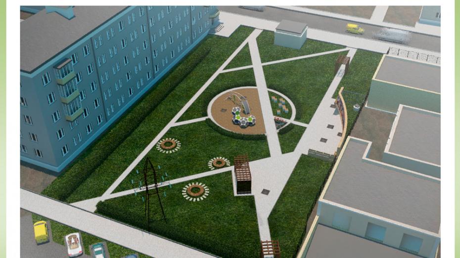 В Воронеже представили проект нового сквера в честь знаменитого зодчего