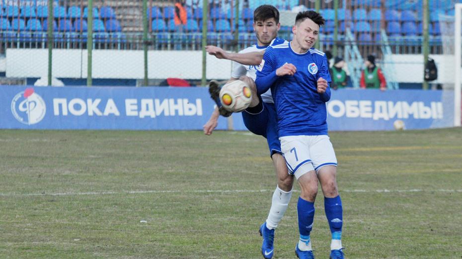 Воронежский «Факел» сыграл вничью с «Тюменью» дома