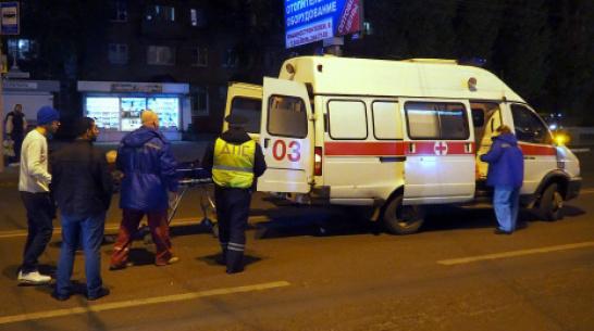 В Воронежской области при столкновении 2 иномарок пострадали 3 школьницы