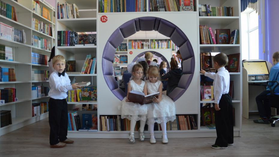 Первая модельная библиотека открылась в Эртиле