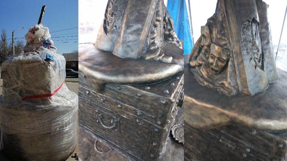 Обновленный памятник Михаилу Горшеневу в Воронеже будут охранять рыцари