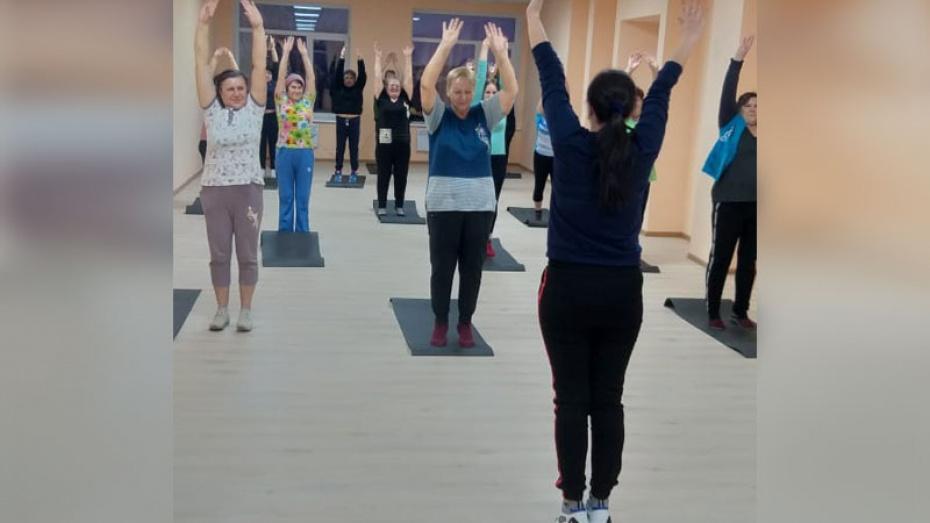 В павловском селе Ливенка впервые открыли фитнес-клуб