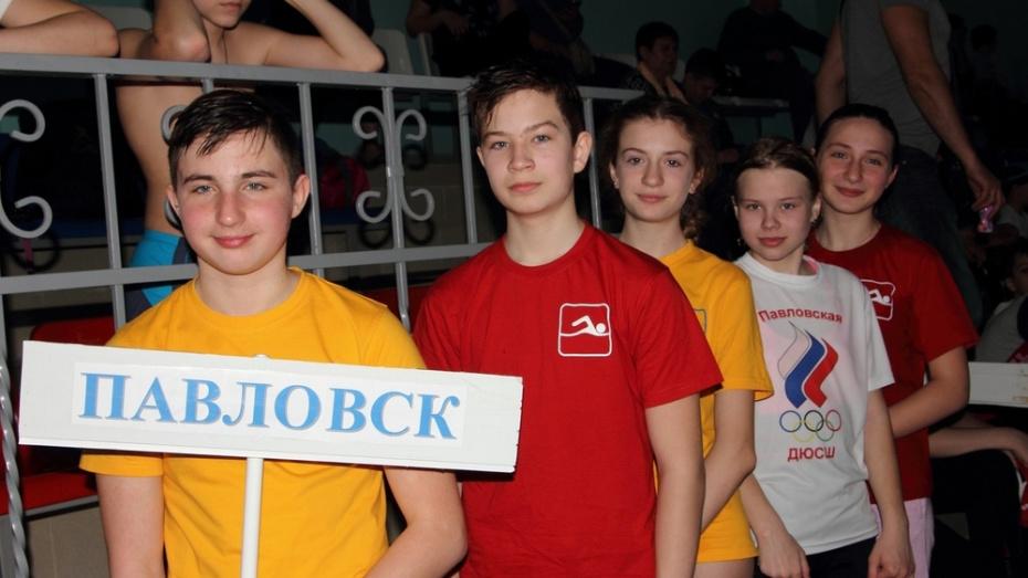 Павловские пловцы завоевали 2 «золота» на Х межмуниципальных соревнованиях
