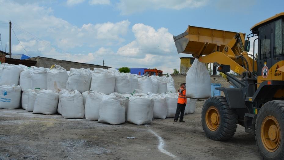 Нижнедевицкие дорожники запаслись солью