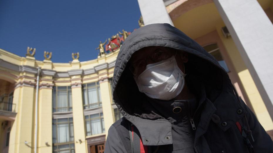 Воронежцам разрешили гулять на улице