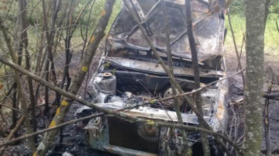 В Воронежской области ВАЗ вылетел в кювет и загорелся: водитель погиб