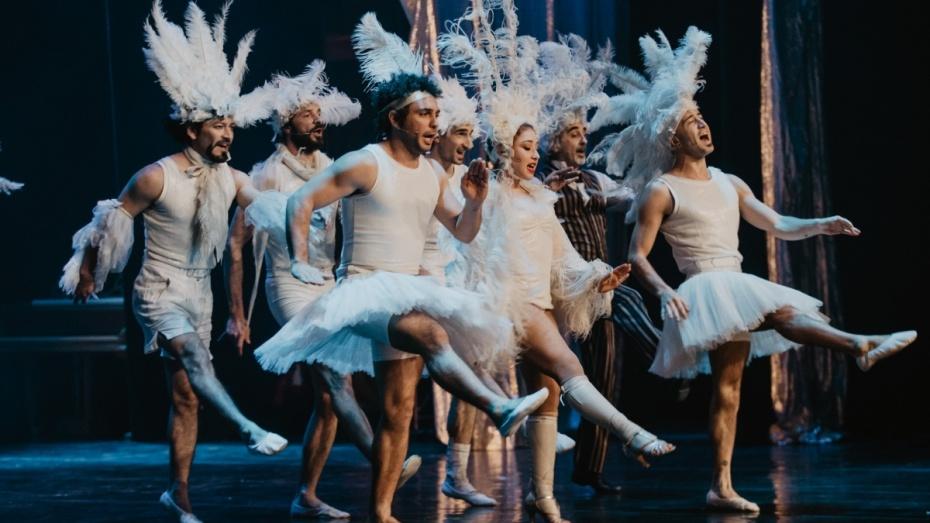 Воронежцы увидели вдохновленную Сальвадором Дали акробатическую фантазию