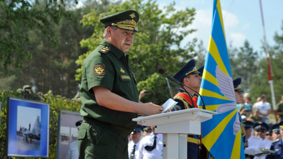 Сергей Шойгу высоко оценил работу исполнительных органов госвласти Воронежской области