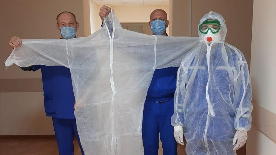 Благотворительный фонд передал Новохоперской больнице 500 защитных комбинезонов