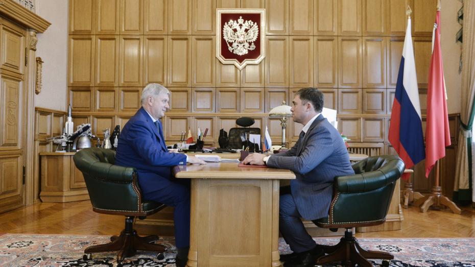 Замглавы Минсельхоза получил награду за вклад в развитие Воронежской области