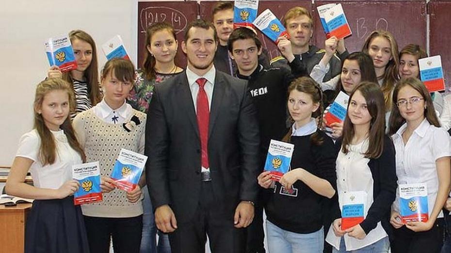 Семилукцы поступили в «Школу молодого депутата»