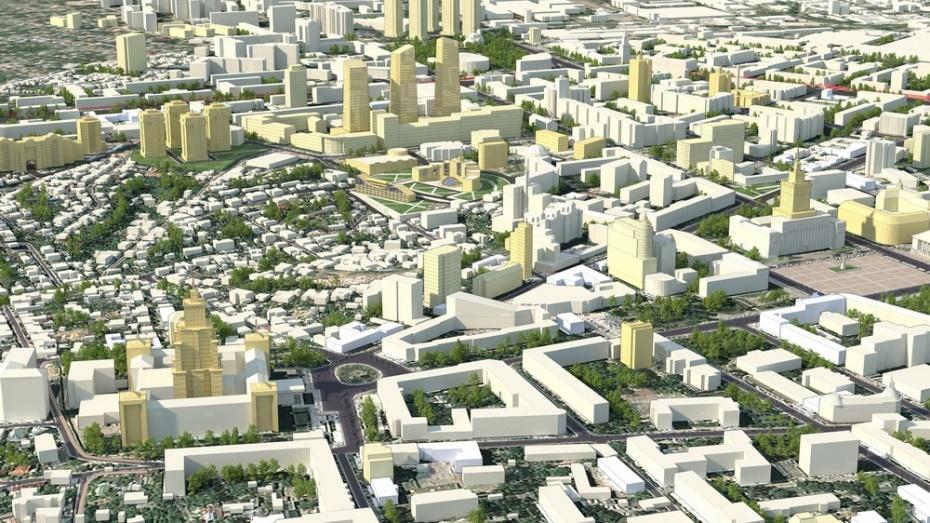Мэрия одобрила план застройки центра Воронежа
