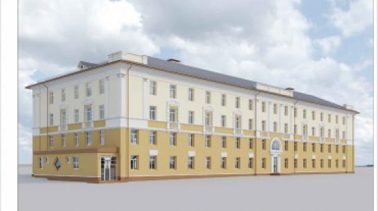 Облздрав опубликовал проект реконструкции бывшей больницы №17 в Воронеже