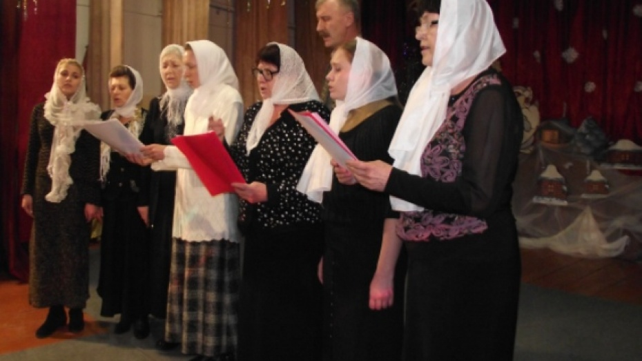 В Богучаре состоялся концерт церковных хоров