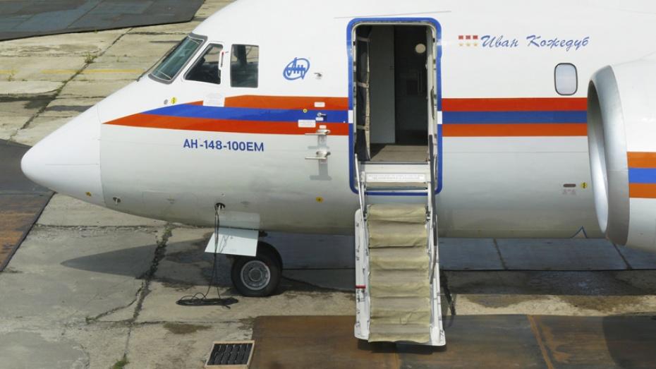 Второй Ан-148, собранный на ВАСО для МЧС, получил имя Ивана Кожедуба