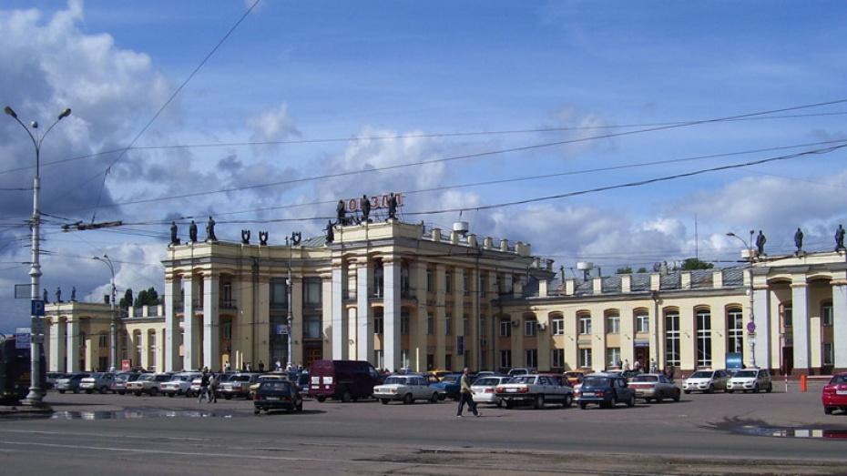 В Воронеже благоустроят пешеходную зону привокзальной площади
