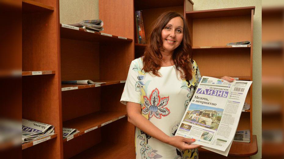 Острогожский журналист победила во всероссийском конкурсе «Патриот России»