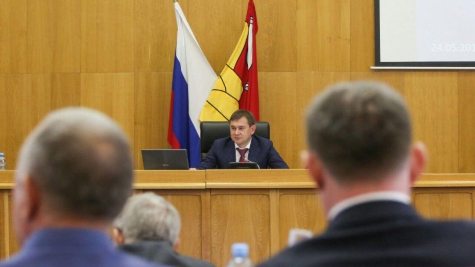 Депутаты Воронежской облдумы утвердили дату выборов губернатора
