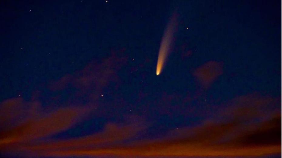 Воронежец запечатлел Большую комету 2020 года