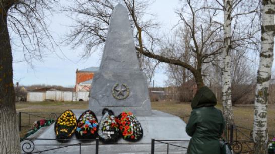 В Терновском районе отремонтируют 2 памятника фронтовикам-односельчанам