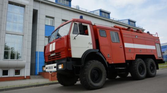 В Острогожске появился еще один пожарный автомобиль