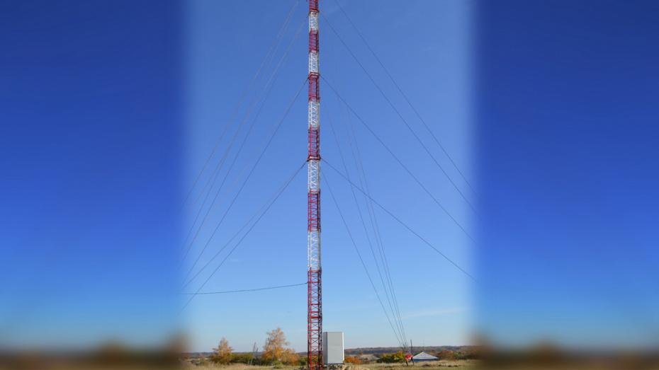 В павловском селе Ливенка установили вышку сотовой связи