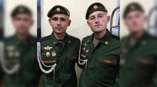 Братья-погодки из Подгоренского района поучаствуют в параде Победы в Москве