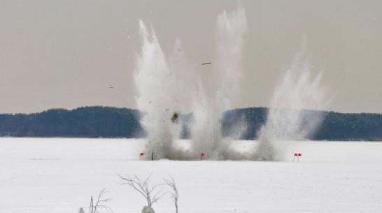 Боевые самолеты Воронежской области уничтожат ледовые заторы на реках