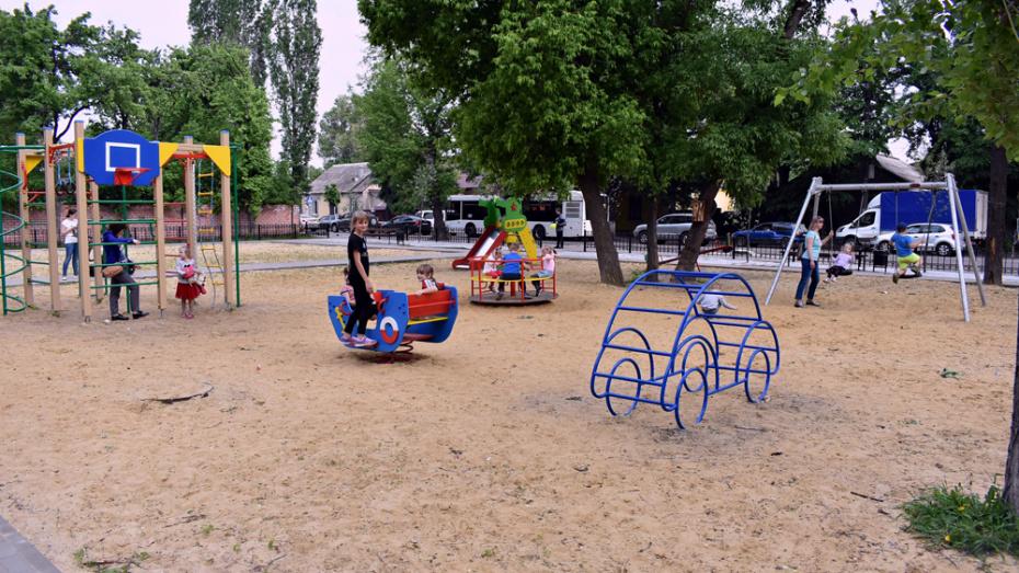 В Ленинском районе Воронежа открыли новый сквер