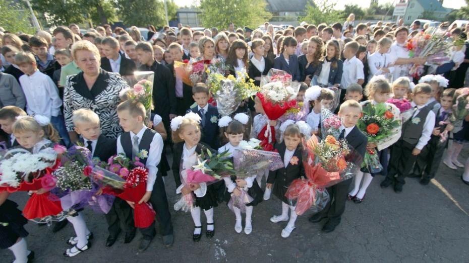 В таловские школы 1 сентября придут 324 первоклассника