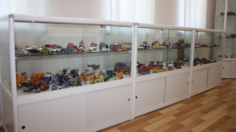 Житель Хохольского района собрал коллекцию из более чем 500 игрушечных автомобилей