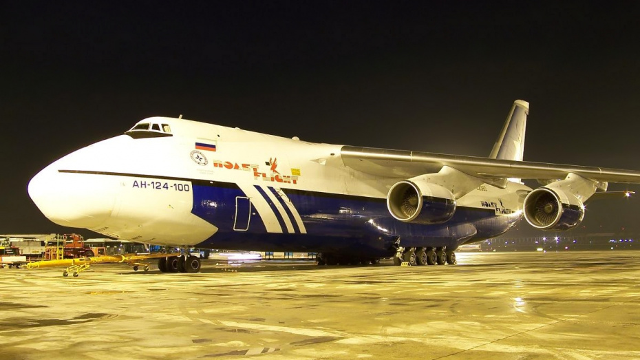 Ан-124 разорившейся воронежской авиакомпании выставили на торги