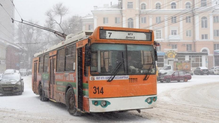 Из воронежских троллейбусов убрали терминалы для оплаты проезда картой