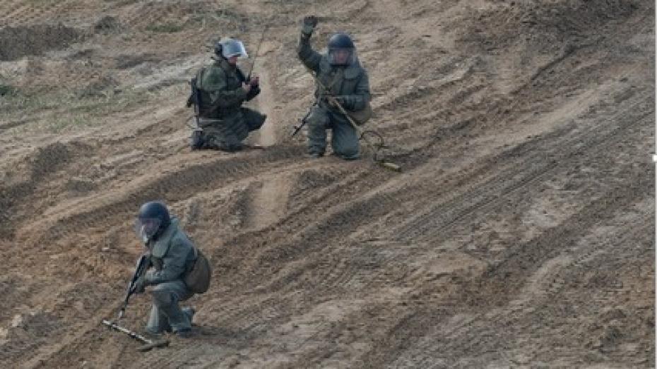 Саперы уничтожили минное поле в Воронежской области