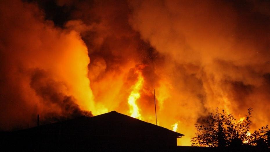 В Грибановском районе при пожаре погибла 78-летняя женщина