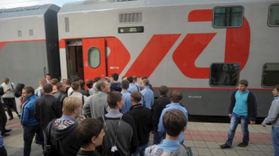 Воронеж стал самым популярным направлением для двухэтажных поездов