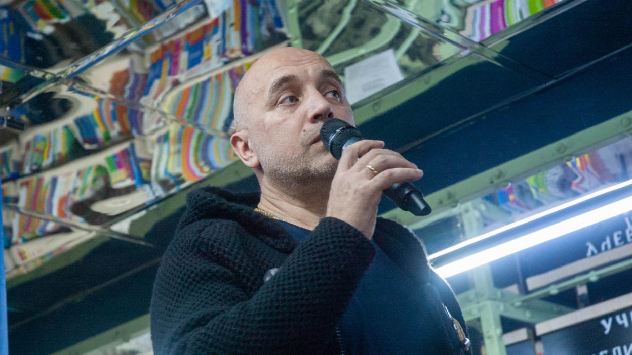 Захар Прилепин в Воронеже: «Я шел за Есениным по пятам»