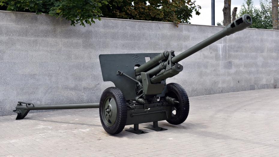 Отреставрированную дивизионную пушку вернули на Чижовский плацдарм в Воронеже