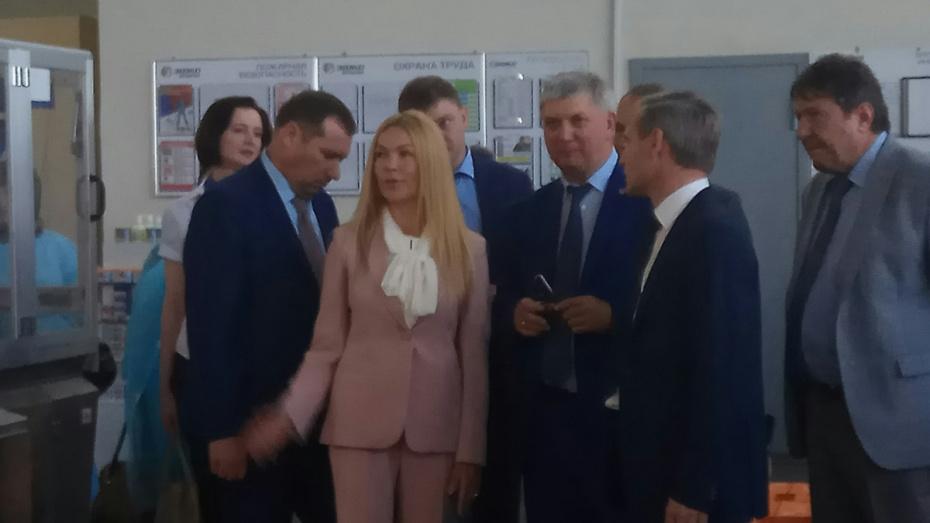 Александр Гусев оценил потенциал Хохольского района Воронежской области