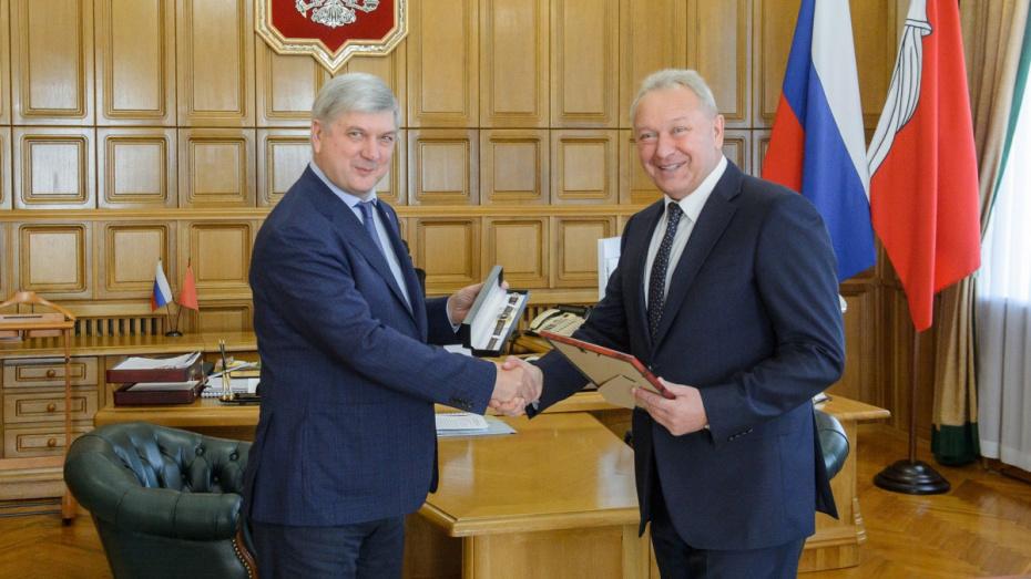 Глава Воронежской области объявил благодарность гендиректору компании «Выбор»