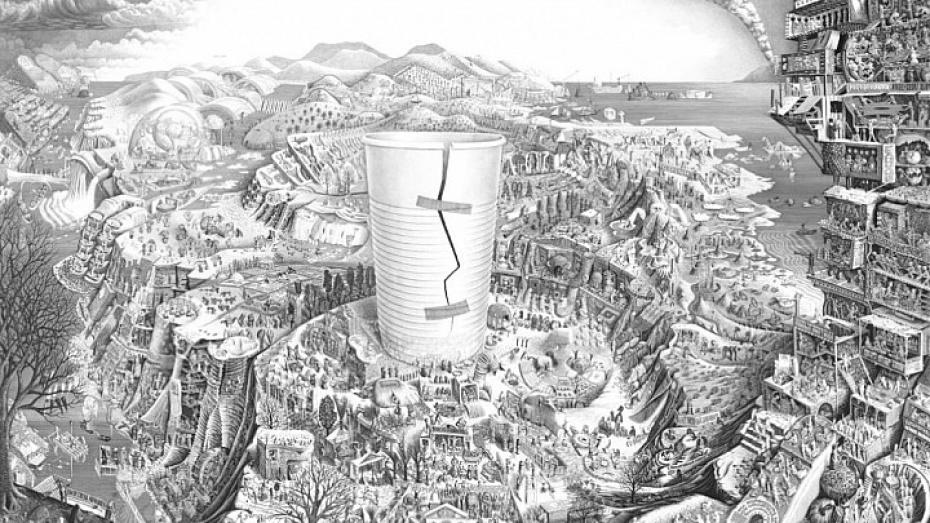 Воронежцам покажут портрет одноразового стаканчика
