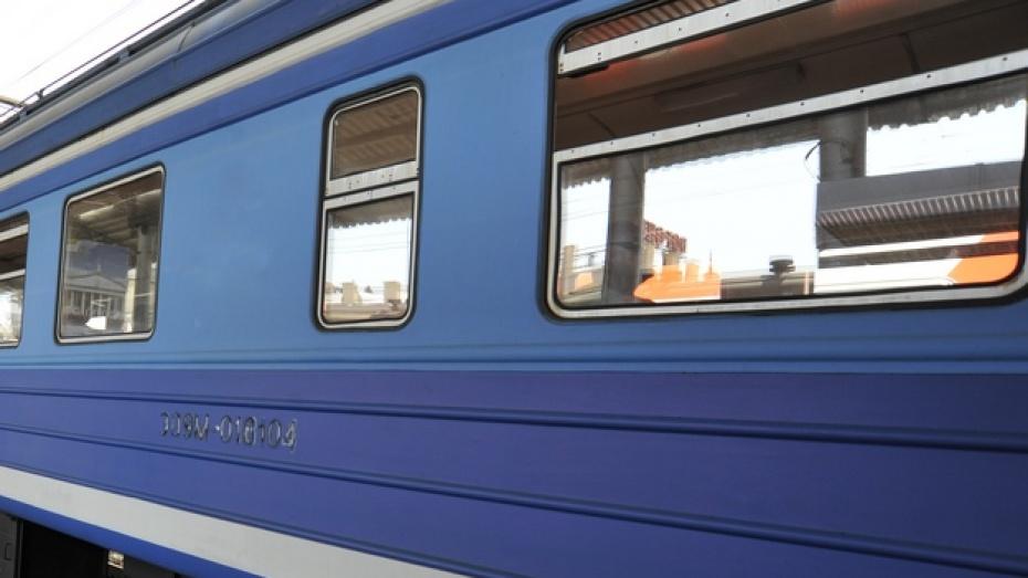 Под Воронежем в поезде скоропостижно скончался мужчина