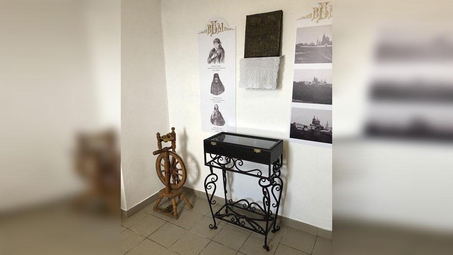 В Воскресенском Белогорском мужском монастыре Подгоренского района открыли музей