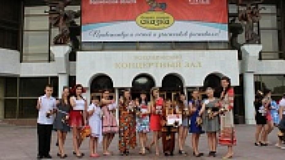 Верхнемамонские школьники стали победителями и лауреатами областного фестиваля «Старая, старая сказка»