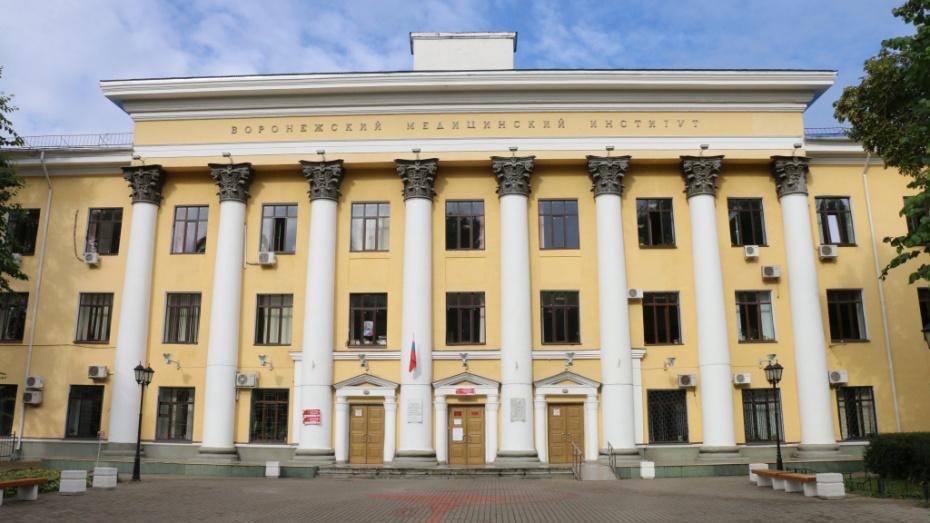 В Воронежском медуниверситете COVID-19 нашли только у одного студента